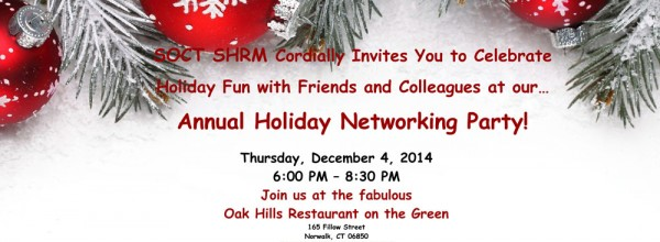 Annual Holiday Networking Party