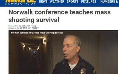 COVERED BY NEWS12! SOCT SHRM's Active Shooter-Workplace Violence Workshop!