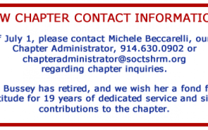 New Chapter Contact Information