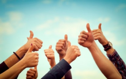 THUMBS UP REVIEWS FROM YOU FOR OUR APRIL 13TH MEETING!