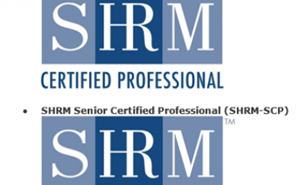 Special Message about SHRM certification new accreditation!